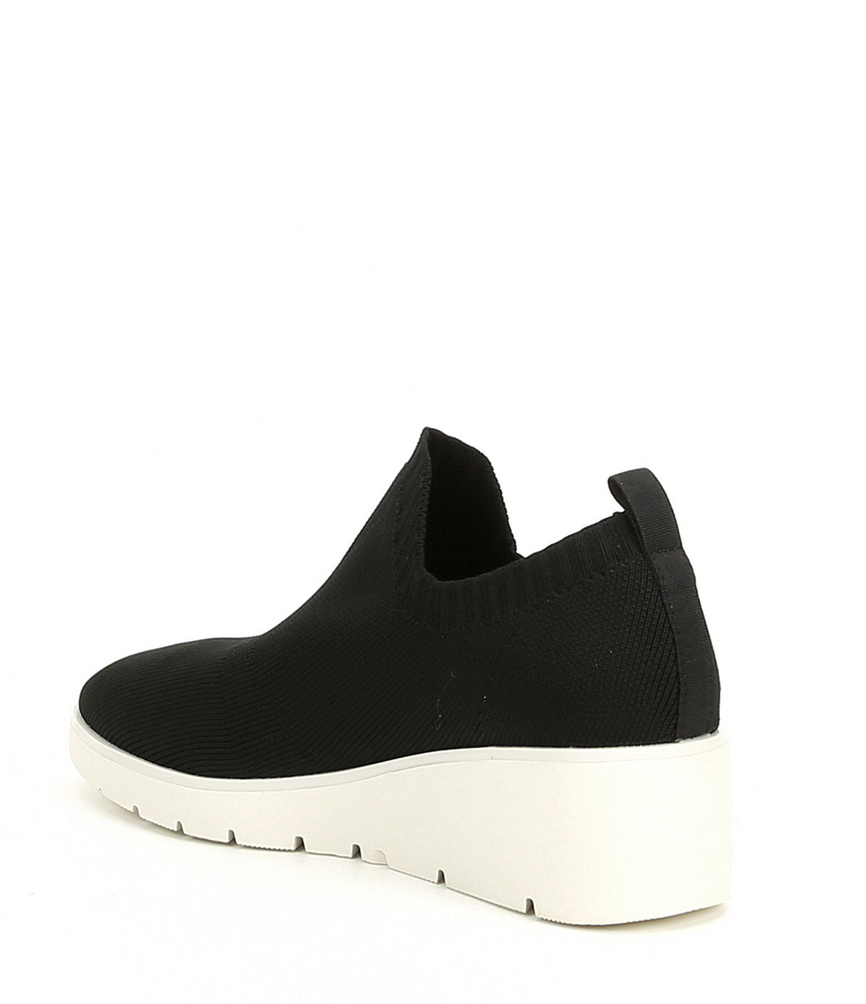 d3854fc33eb Steve Madden - Black Steven By Bell Slip On Sneakers - Lyst. View fullscreen