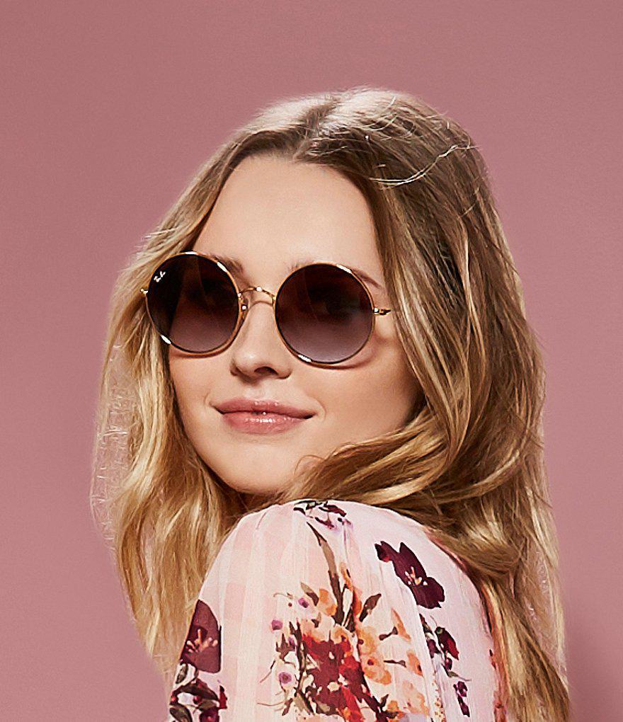2ad4415da0 Lyst - Ray-Ban Ja-jo Round Sunglasses