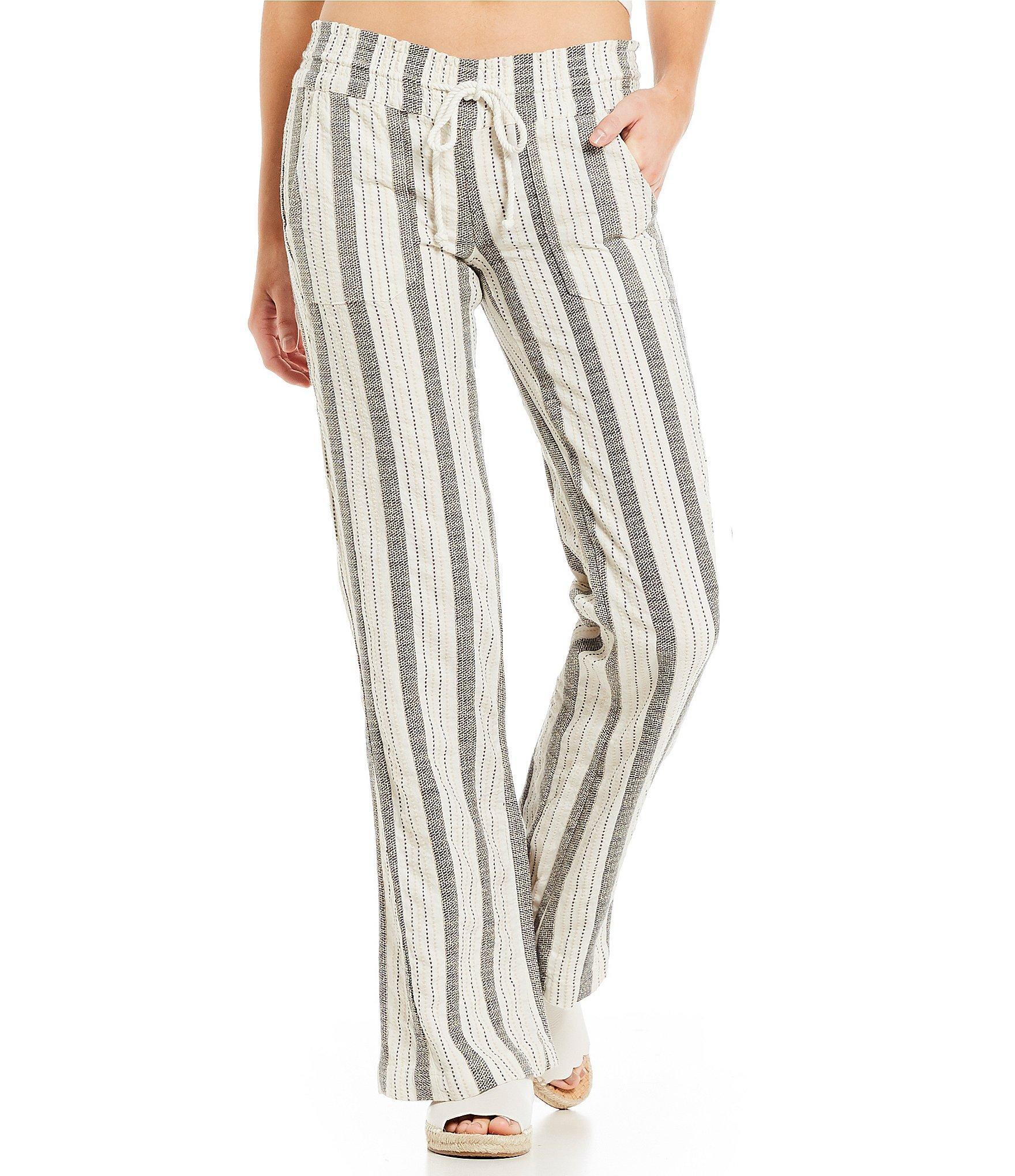 b5b2db1b00 Roxy. Women's Oceanside Stripe Beach Pants