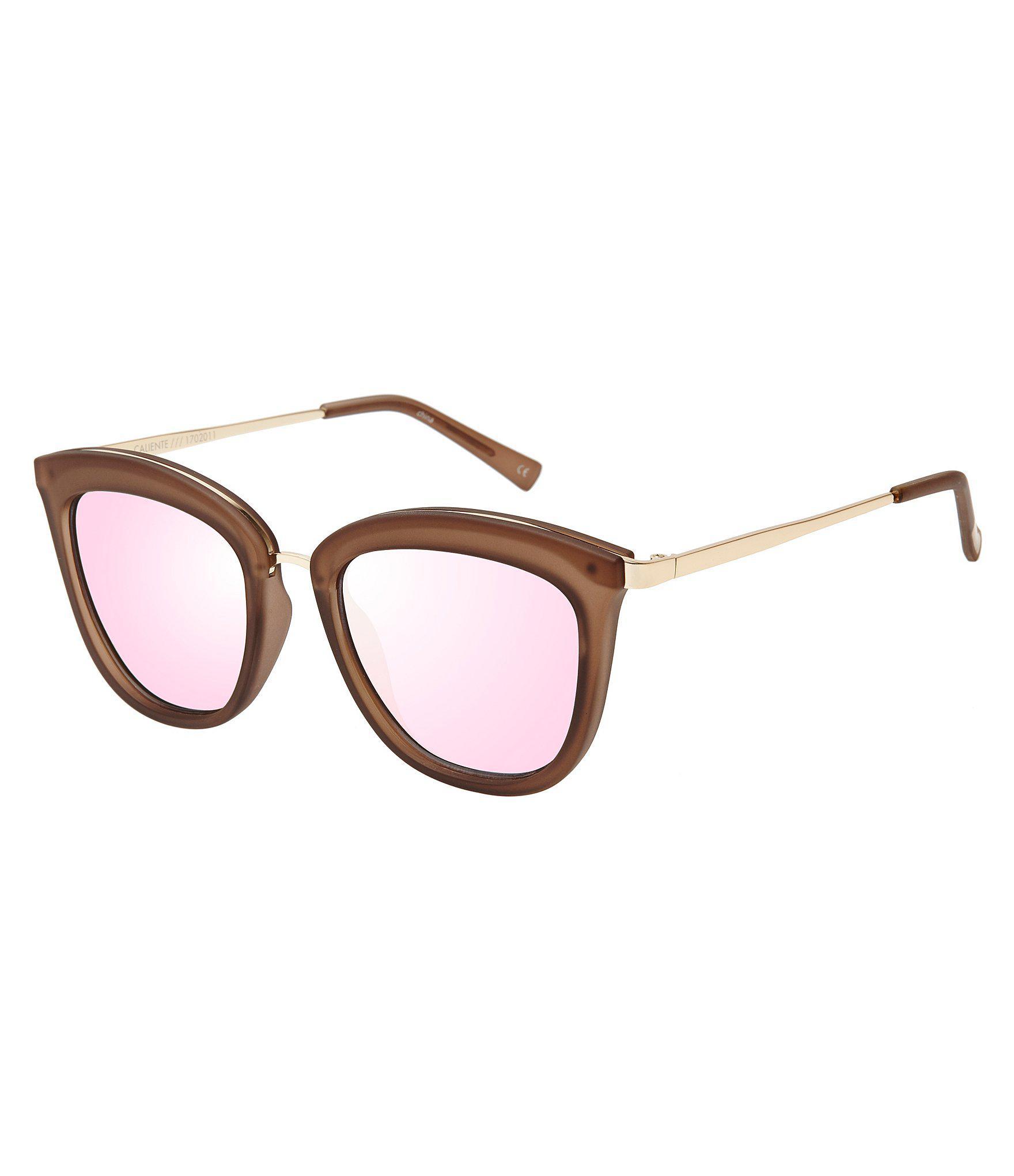 990462d73a8 Le Specs. Women s Caliente Cat Eye Sunglasses