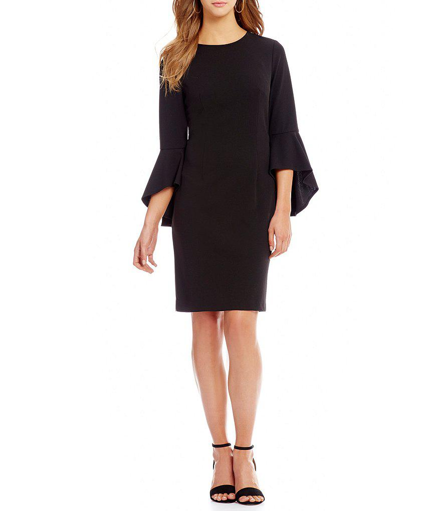 a8630dfc2aa Antonio Melani Liza Bell Sleeve Dress in Black - Lyst