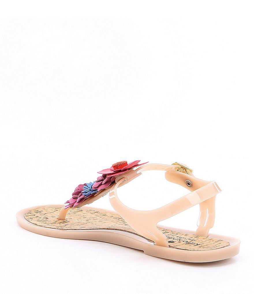 kate spade new york Fatema Flower Jelly Sandals HE6pP1o