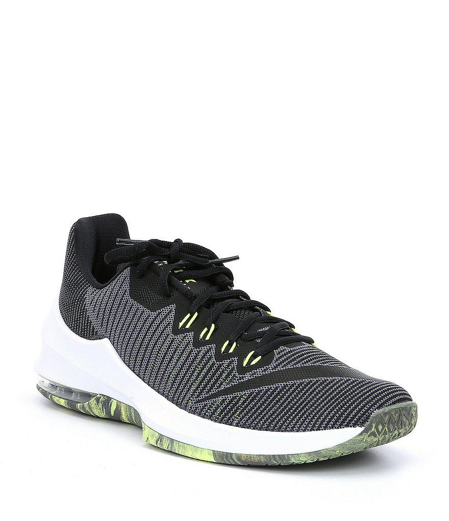 3899b40cd438 Nike Men s Air Max Infuriate 2 Low Basketball Shoes in Gray for Men ...