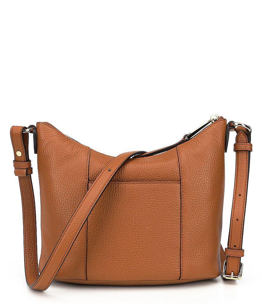 2256ec4adb16 Lyst - MICHAEL Michael Kors Lupita Medium Cross-body Bag in Brown
