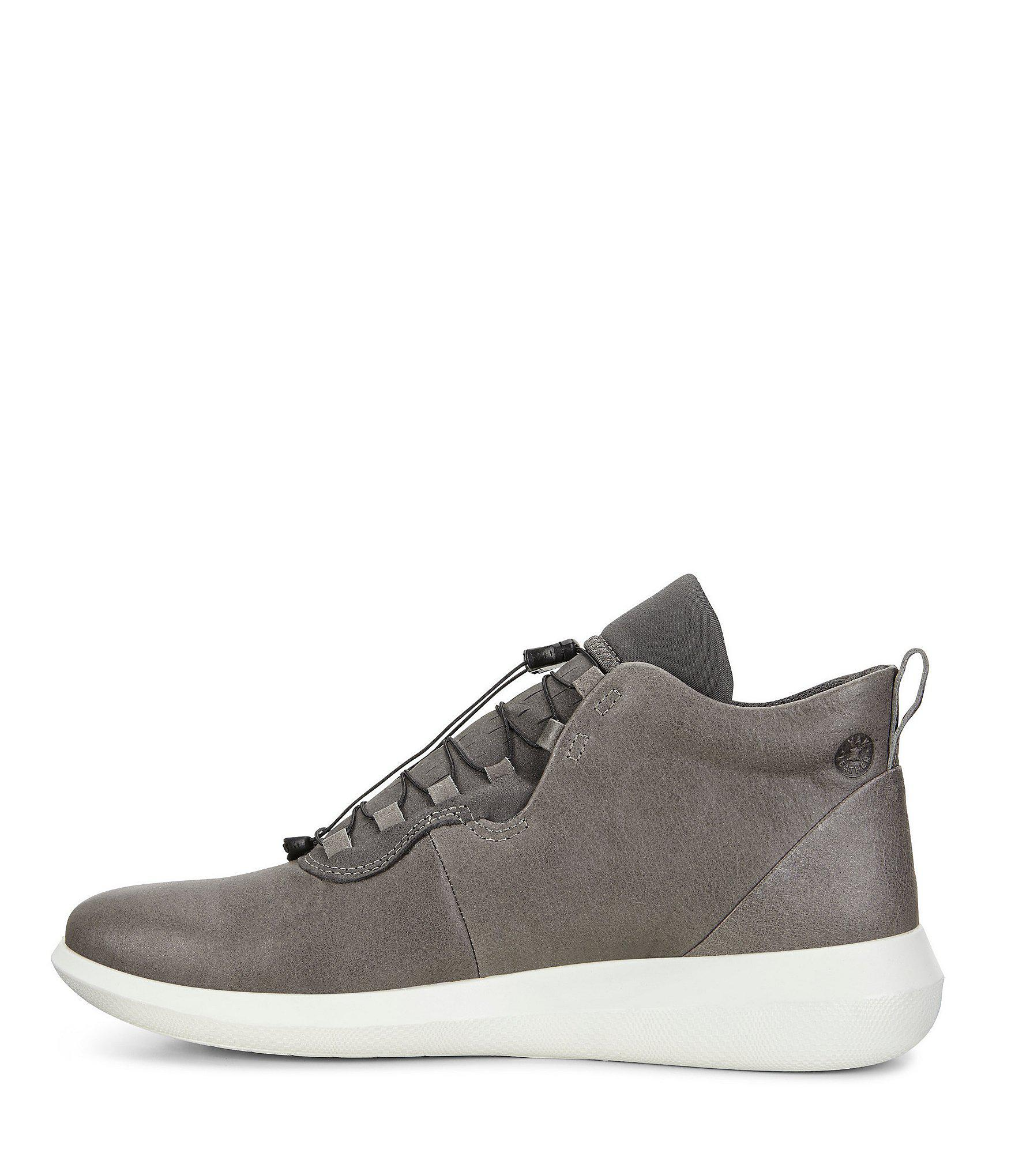 63aeee6210a1 Lyst - Ecco Men s Scinapse High Top Sneakers in Gray for Men