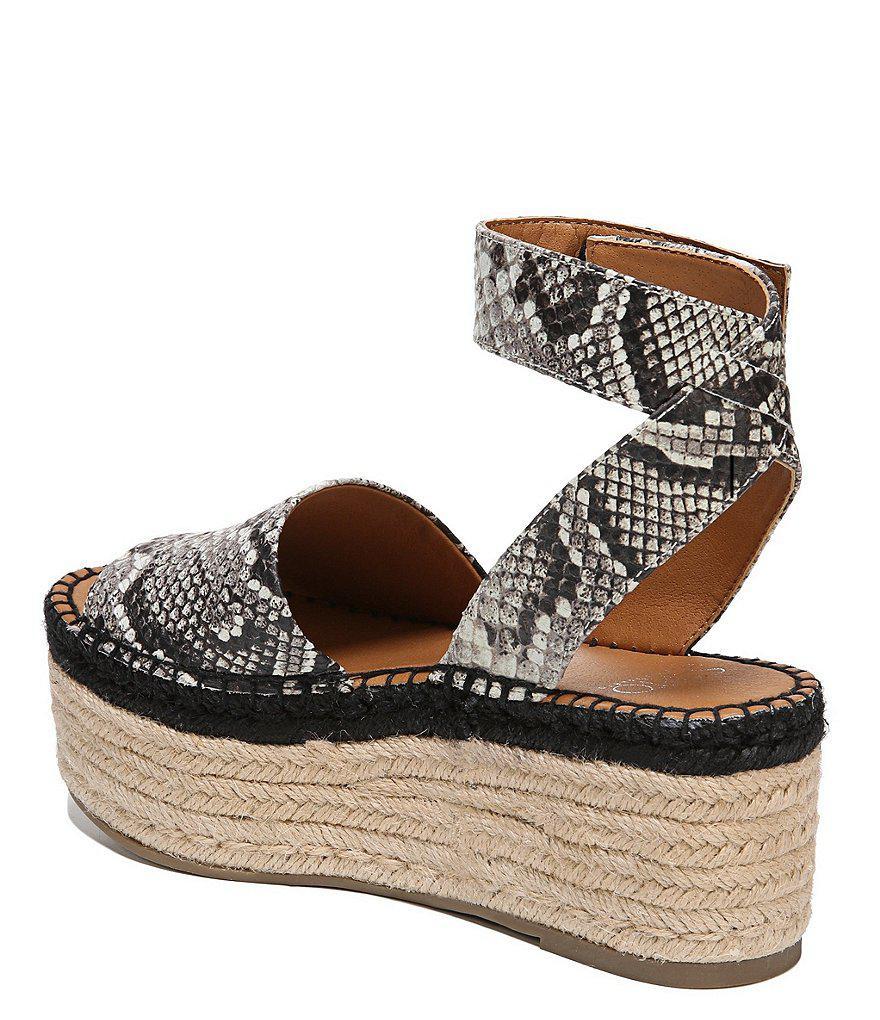 Sarto by Franco Sarto Maisi Ankle Strap Espadrille Sandals 7aaUhKLU