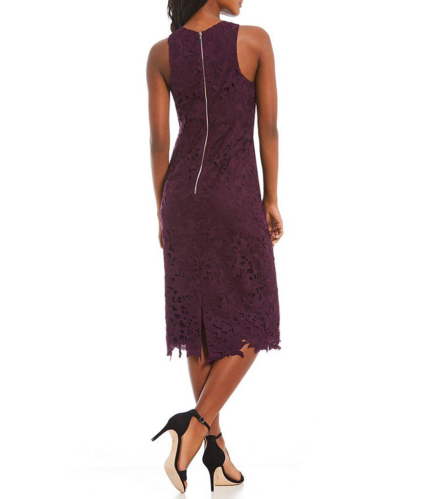 c9a84fce7cb Antonio Melani Peggy Lace Dress in Purple - Lyst