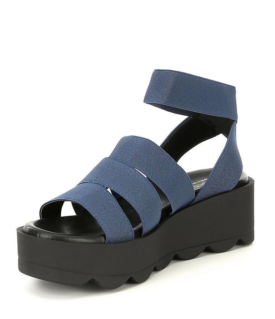 Lanna Stretch Platform Sandals ZvGoKNOMmY