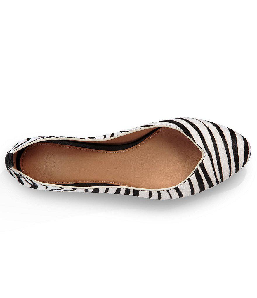 84a4c1473838 UGG ® Lynley Exotic Flats - Lyst