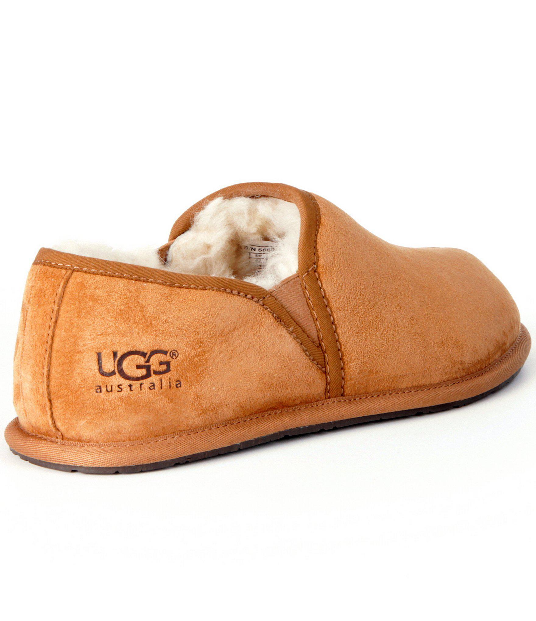 b183b2c135b7 Lyst - UGG ® Men´s Scuff Romeo Ii Suede Sheepskin Lined Slip On ...