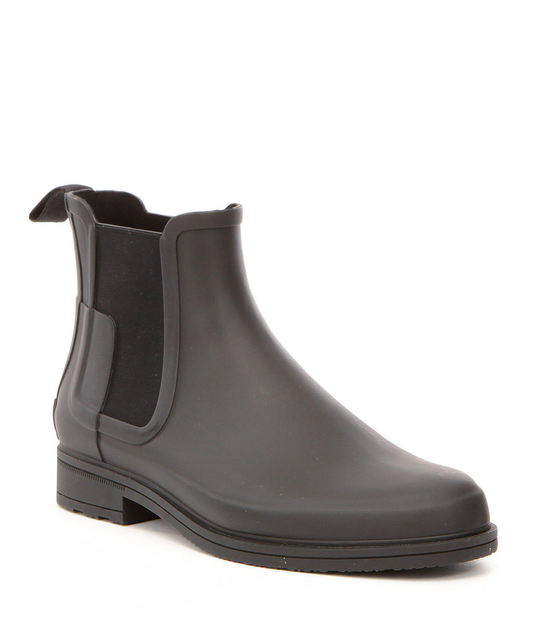 1821351b51a2 Lyst - HUNTER Men s Original Waterproof Refined Chelsea Boots in ...