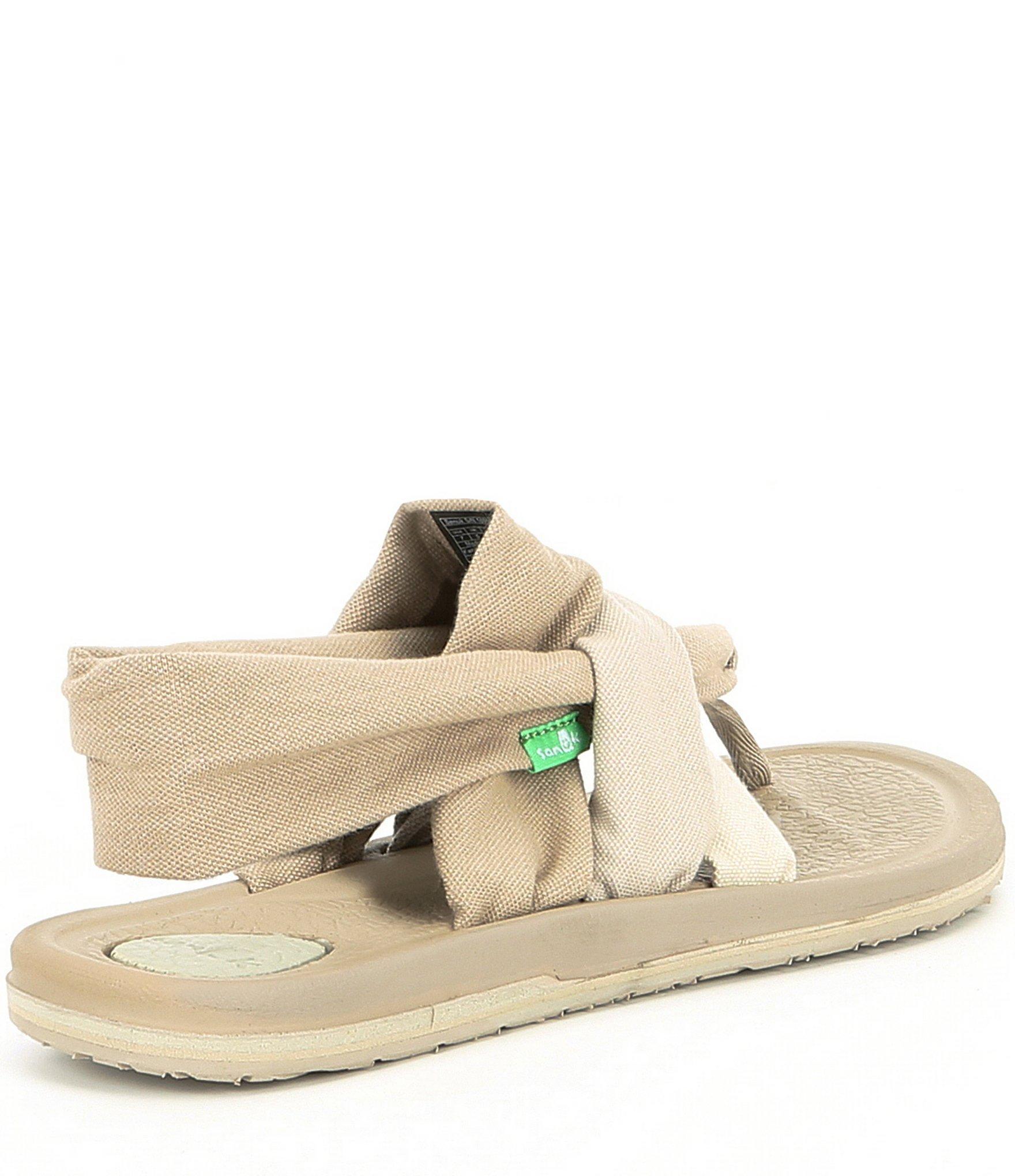 Sanuk Yoga Sling 3 Colorblock Sandals In Natural Lyst