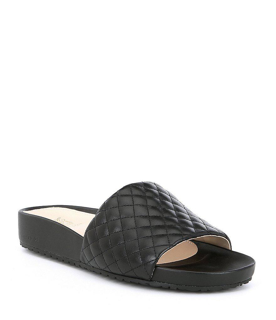 Cole Haan Montuck Quilted Slides 1BYxVyzMZ