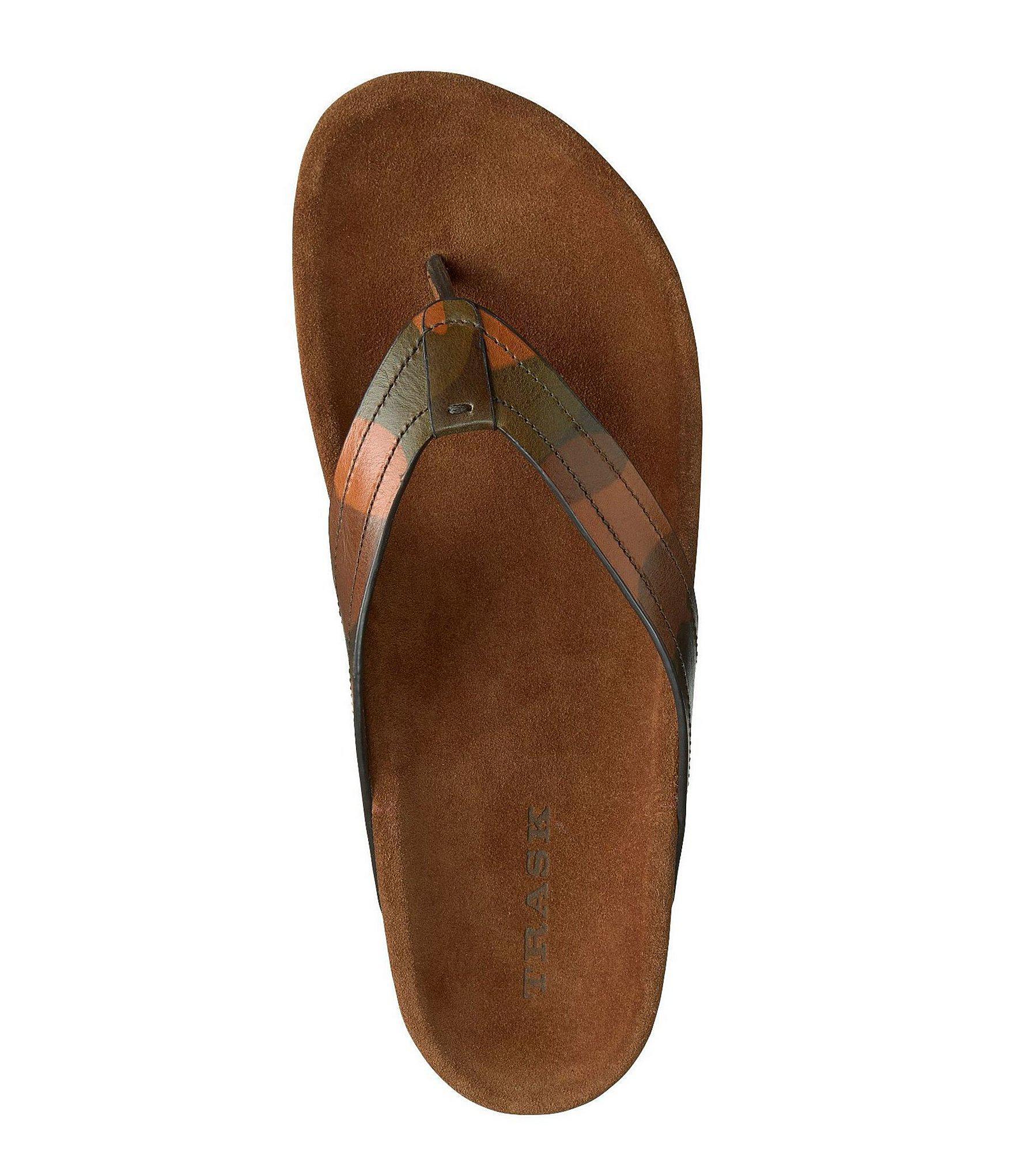 9fa645c32674 Trask - Brown Men s Fleming Flip-flops for Men - Lyst. View fullscreen