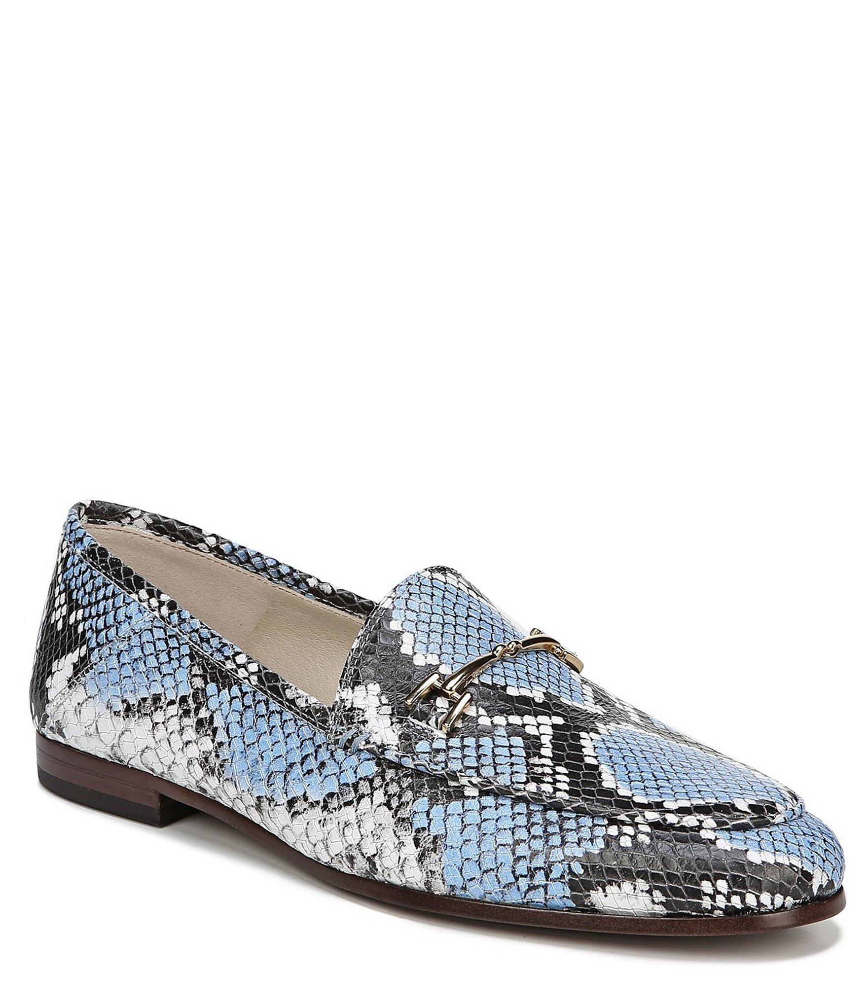 0d696fde4d49 Sam Edelman Loraine Loafers in Blue - Lyst