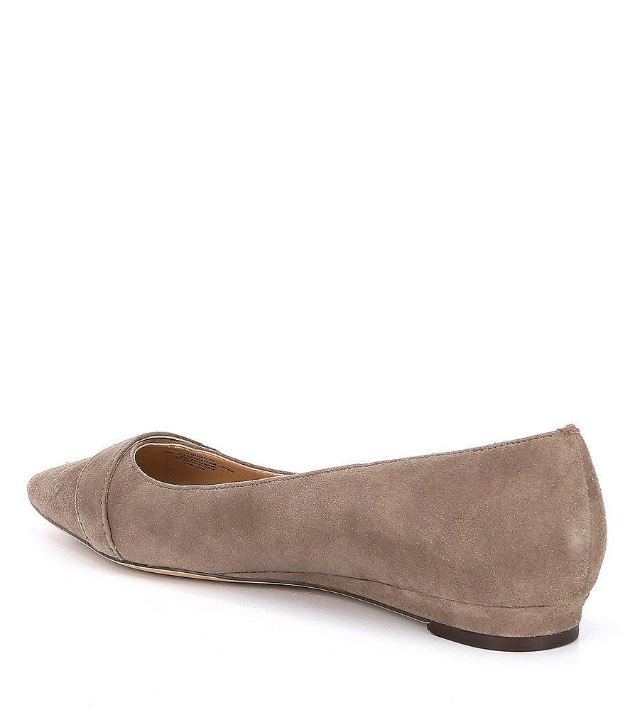 Aminah Suede Dress Flats