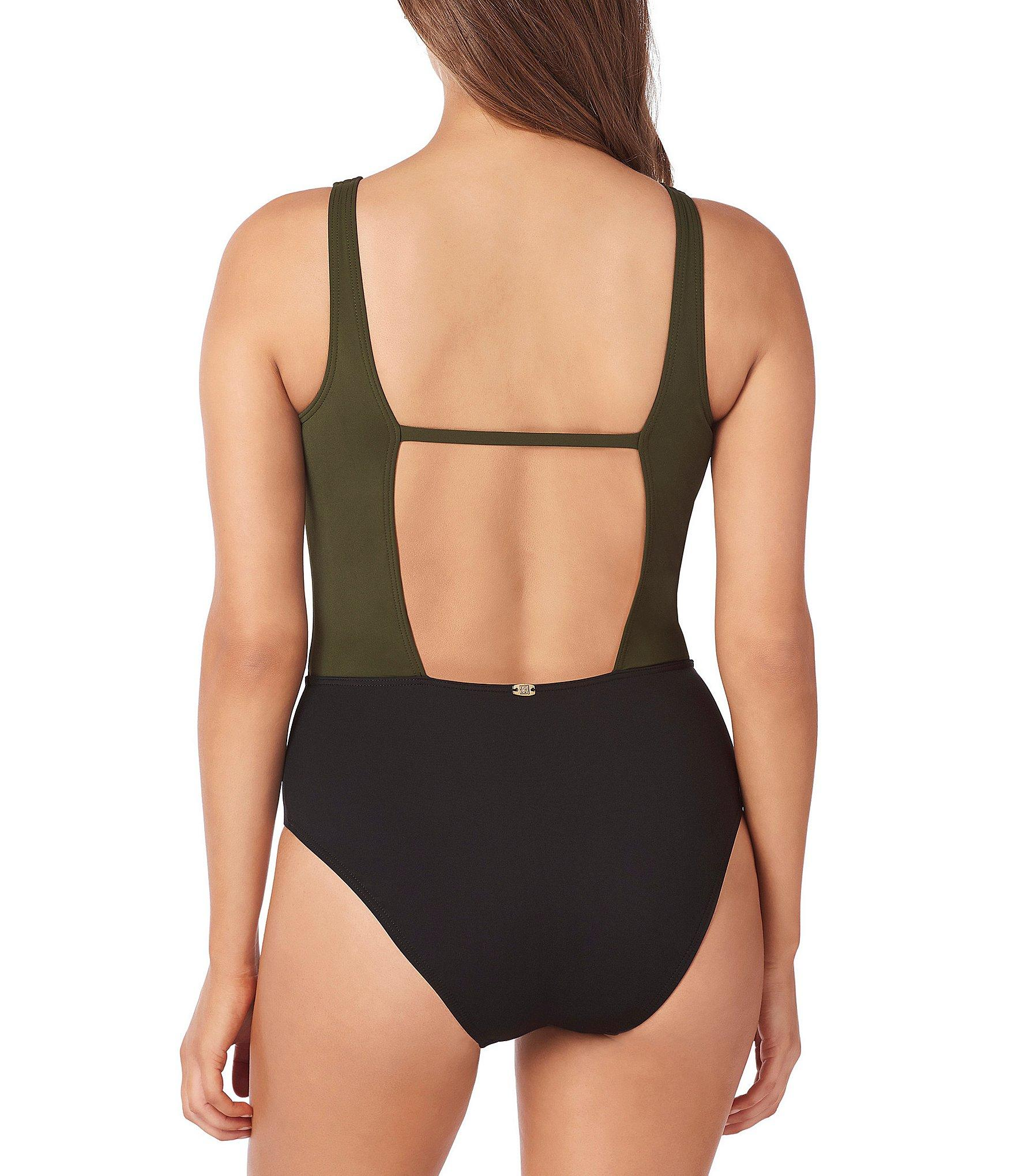 Lyst - Miraclesuit Amoressa By Eclipse Ursa Plunge One Piece Shaping ... 14283d92a