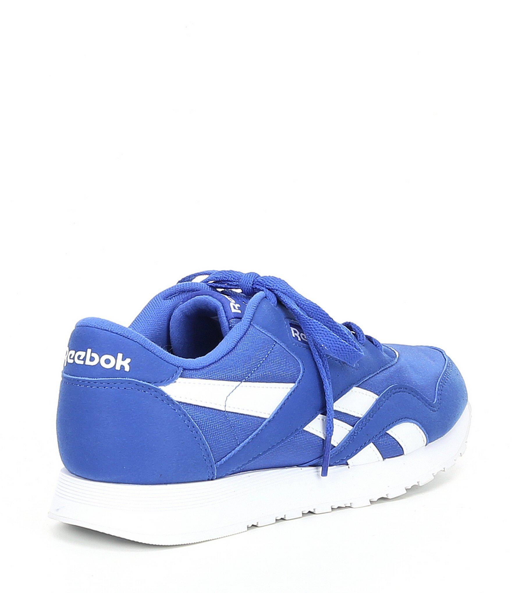 a4b85914cfae Reebok - Blue Women s Classic Nylon Sneaker - Lyst. View fullscreen
