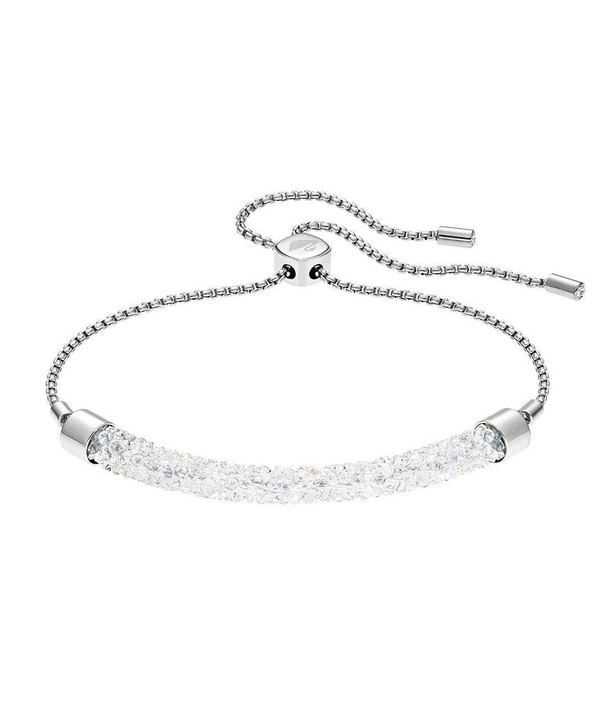 77d898760 Swarovski Long Beach Bracelet in Metallic - Lyst