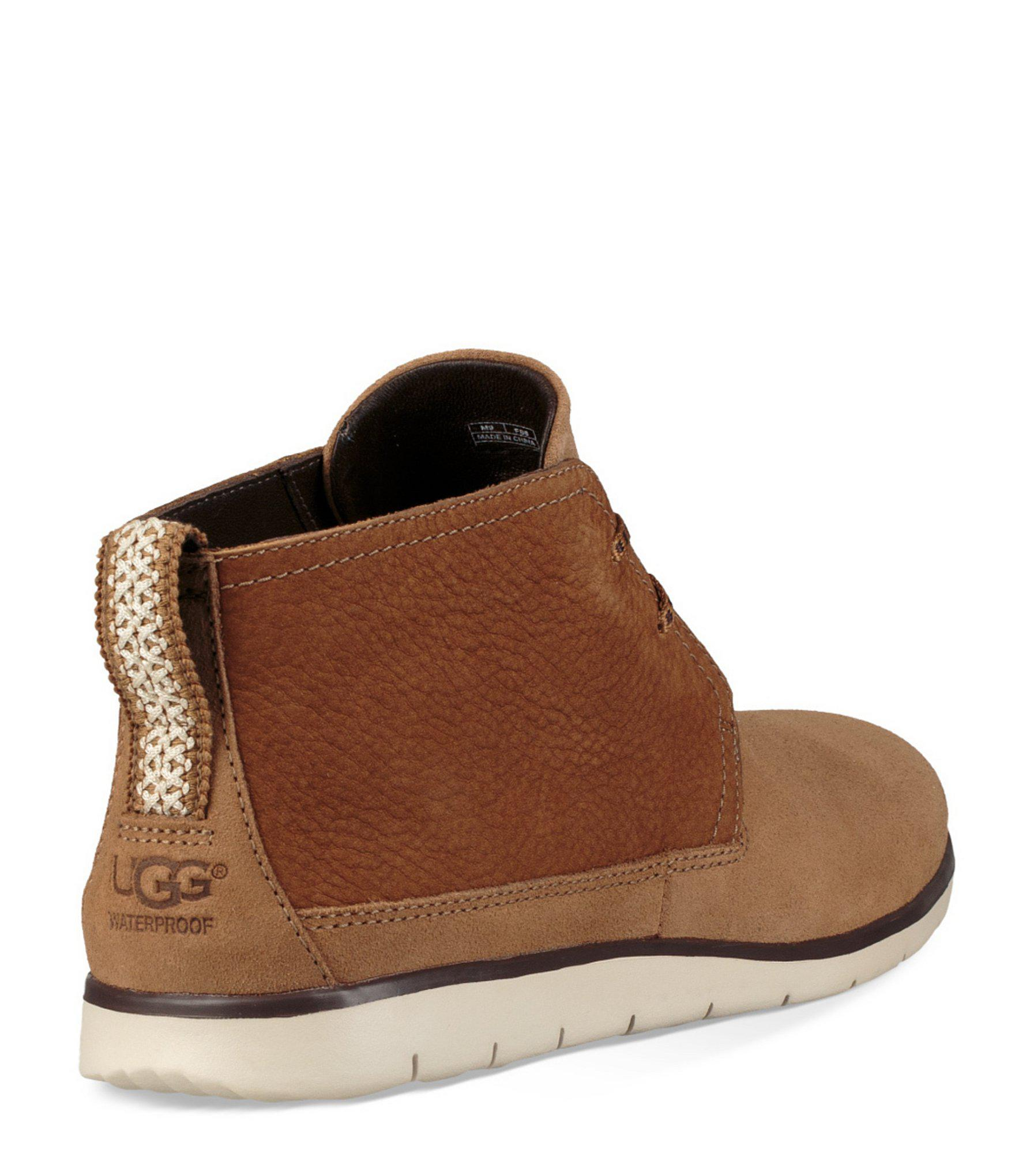 c7bc8a0008e Ugg Brown Men's Freamon Waterproof Chukka Boot for men