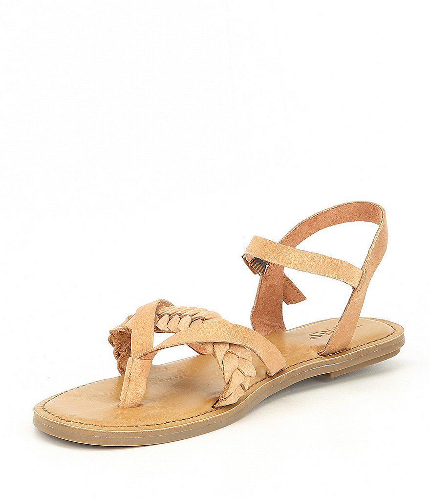 TOMS Lexie Braid Sandals XUNJCl8W