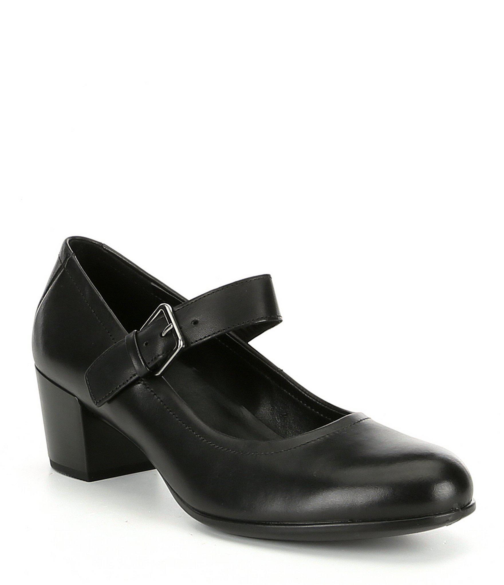 c149b3c2d6f37 Ecco. Black Shape 35 Mary Jane (dune/dune Calf Nubuck/calf Leather) Women's  Maryjane Shoes