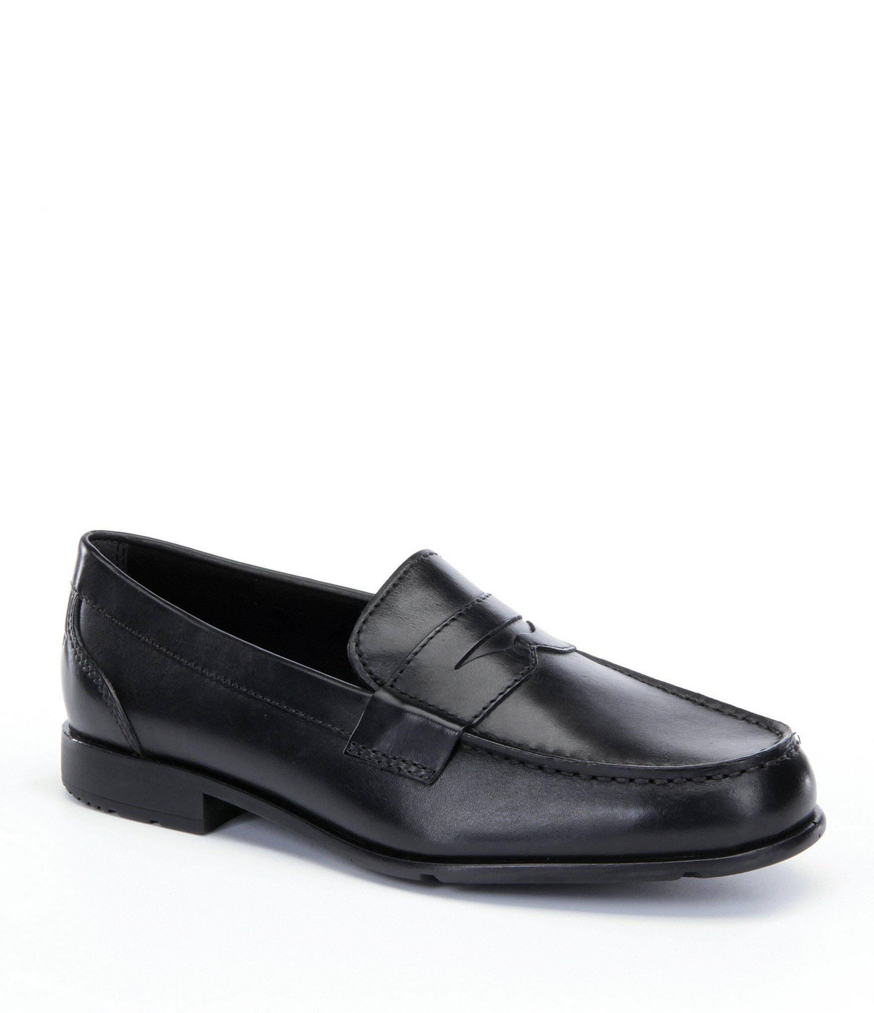 c565b5c089e Rockport - Black Men s Lite Classic Penny Loafers for Men - Lyst. View  fullscreen