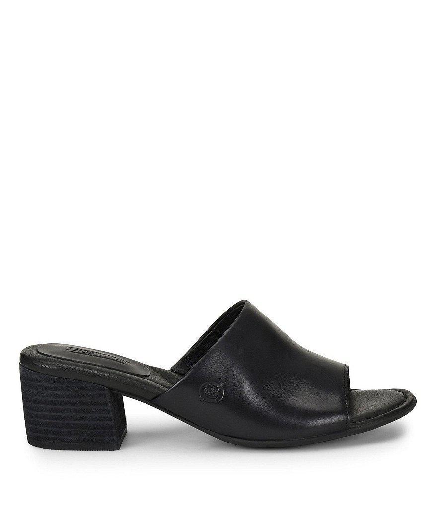 Opal Block Heel Slide Sandals FKoexAL