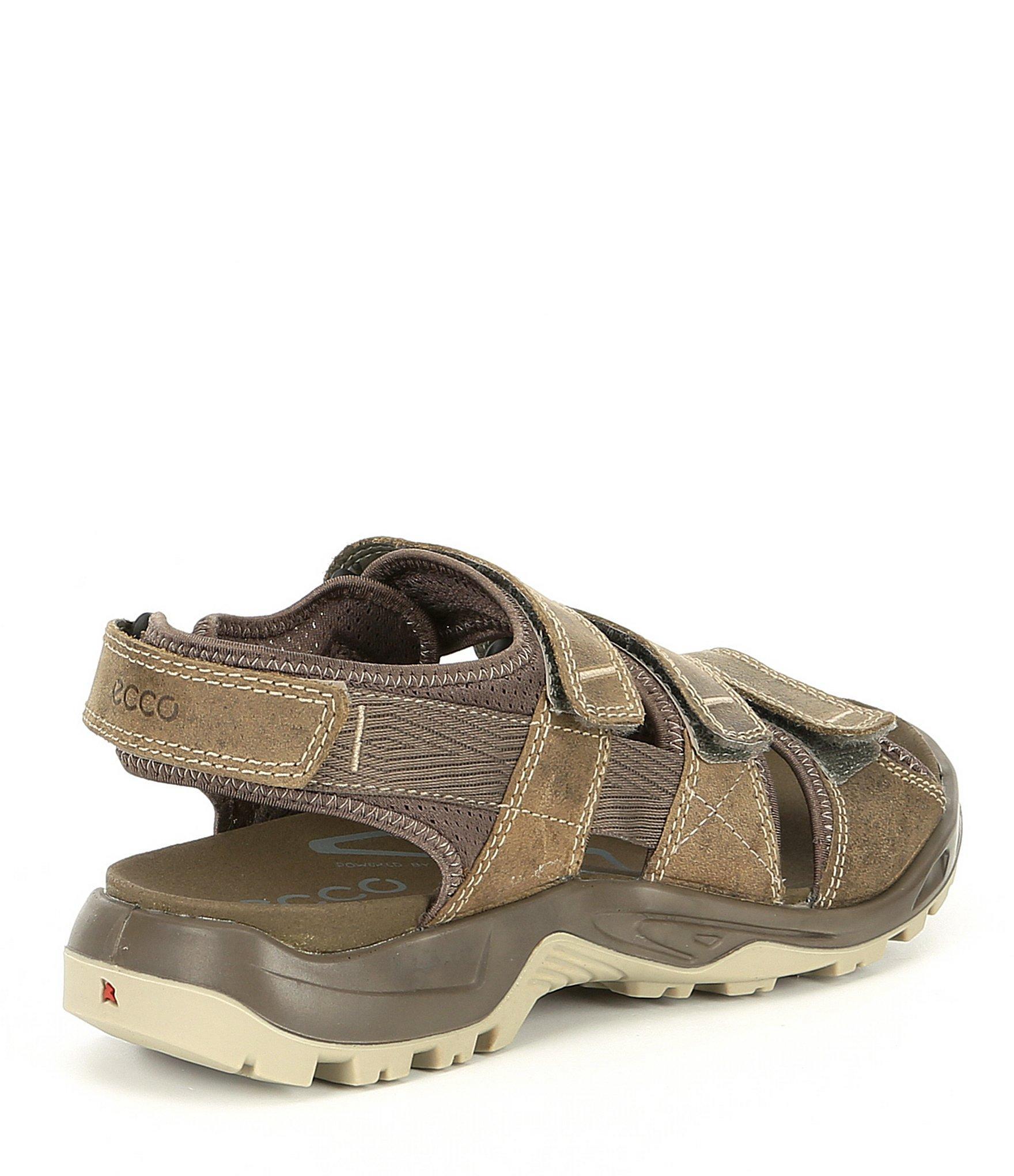 1ea48b7c6d6 Ecco - Brown Offroad Men's Leather Banded Sandal for Men - Lyst. View  fullscreen