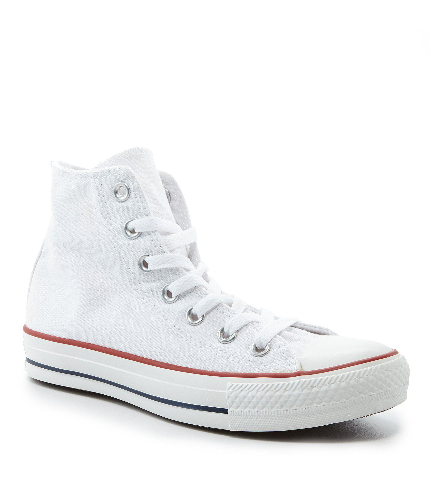d3ca9a82f7d0 Converse White Chuck Taylor® All-star® Core Hi-top Sneakers. View fullscreen
