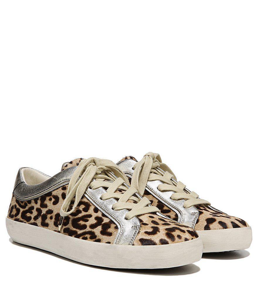 1fb5aea63d7b Lyst - Sam Edelman Britton 2 Leopard Print Sneakers