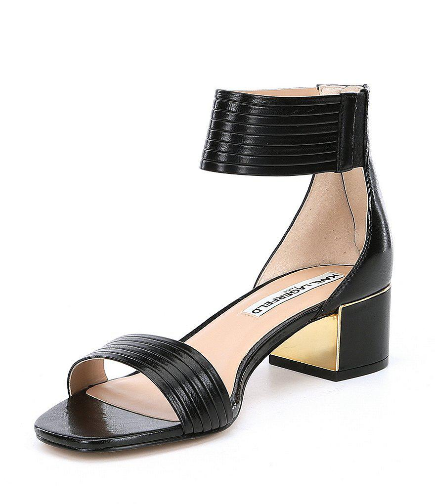 Trish Block Heel Sandals YpJqPT
