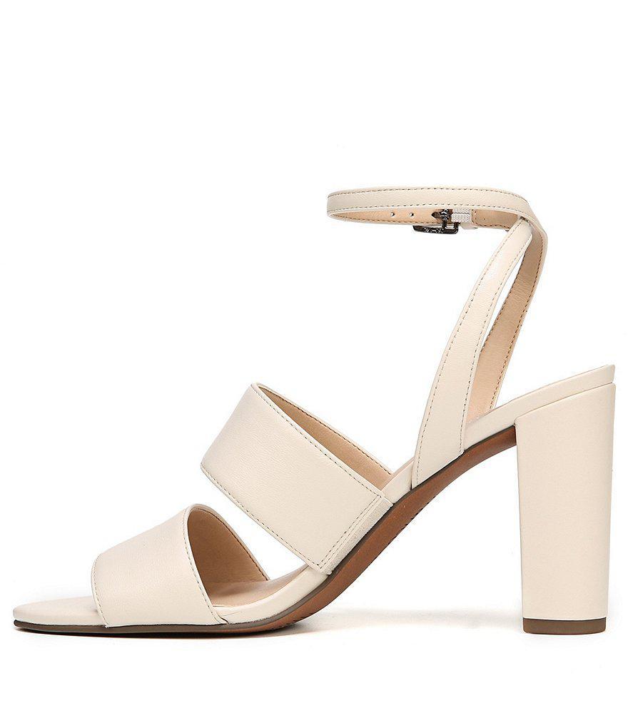 Franco Sarto Haneli Metallic Snake Print Block Heel Dress Sandals HPkpPn