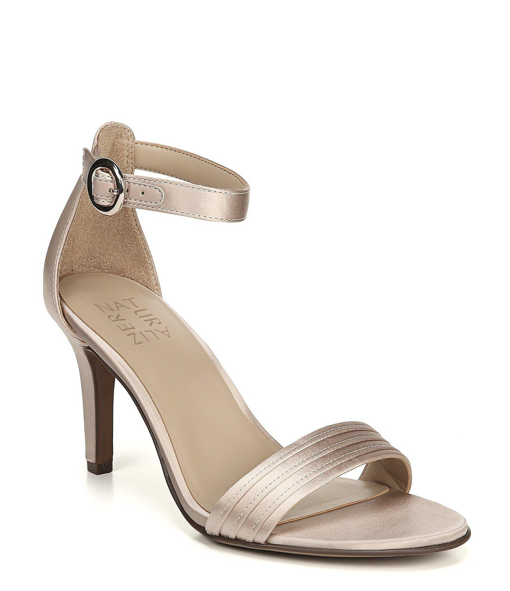 efce79ad316d Naturalizer. Women s Kinsley 2 Satin Ankle Strap Dress Sandals