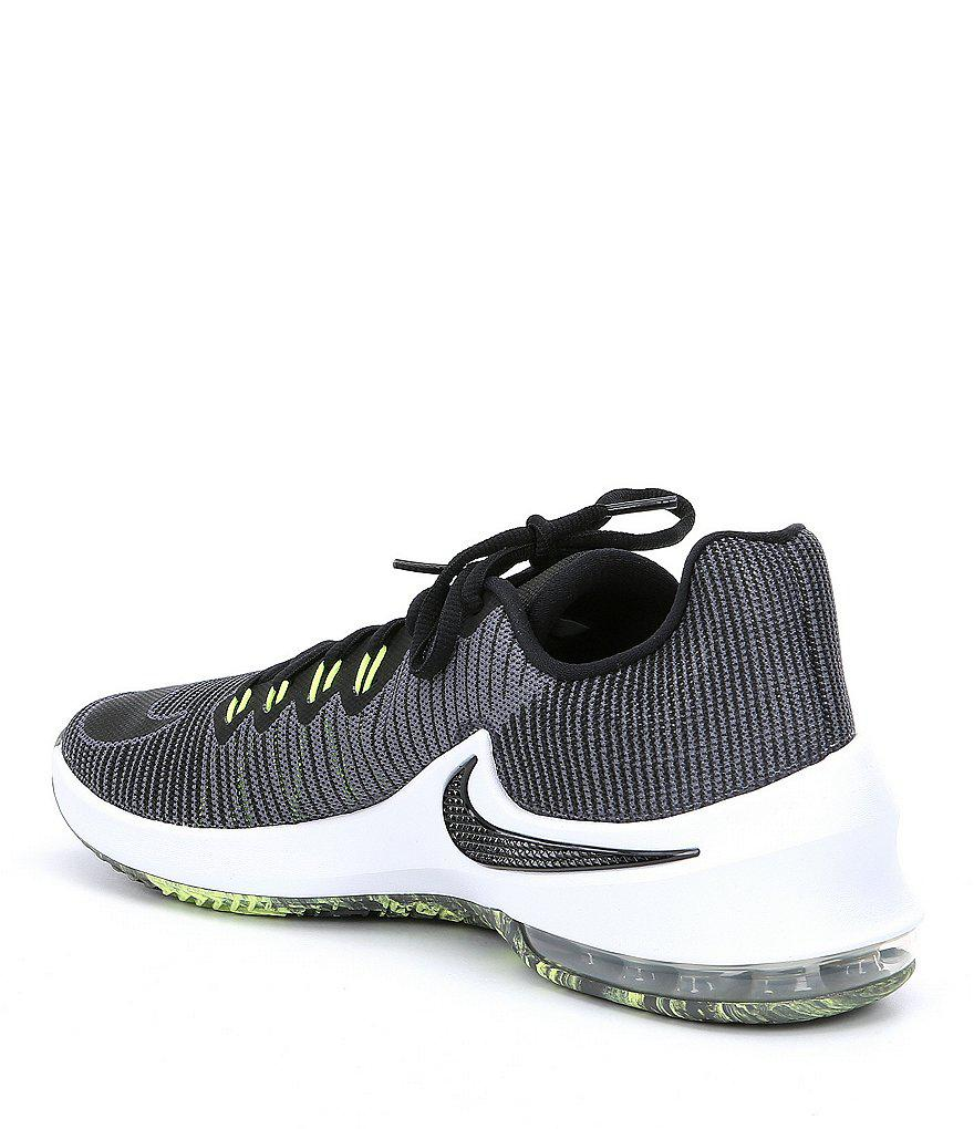 new style 57648 f67e3 Nike Men s Air Max Infuriate 2 Low Basketball Shoes in Gray for Men ...