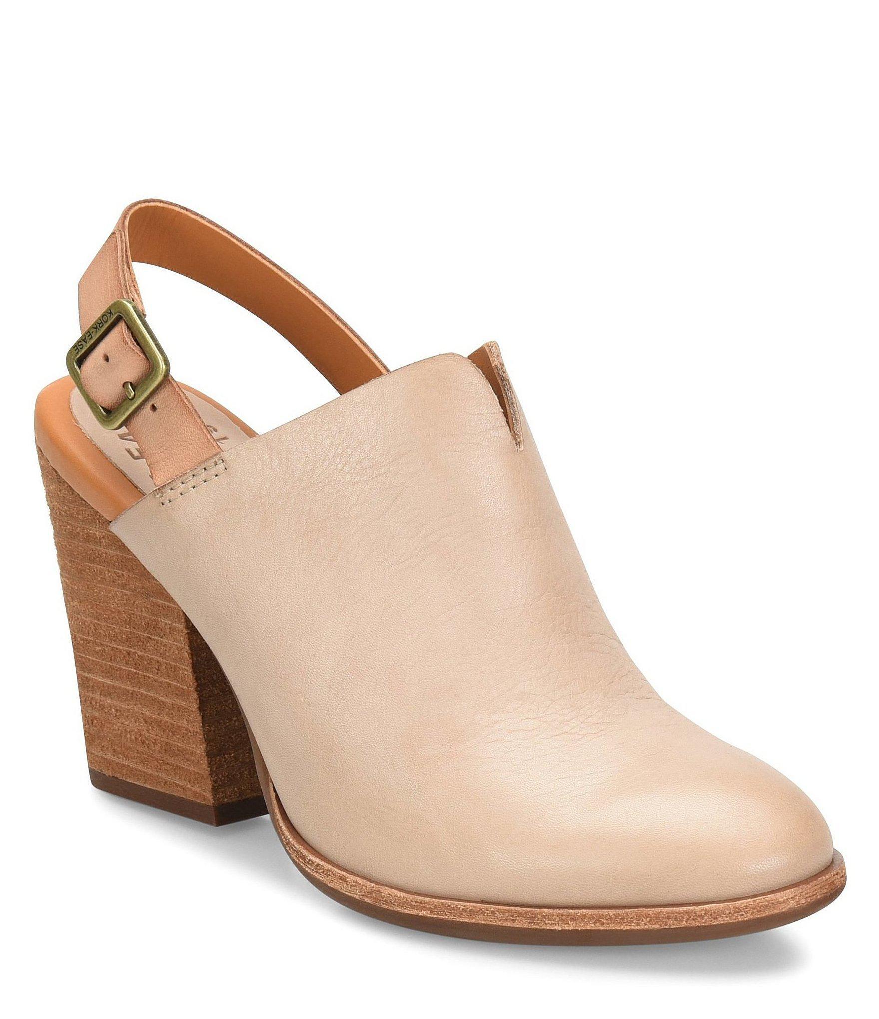 fa69dc75668f Lyst - Kork-Ease Janelle Slingback Block Heel Mules
