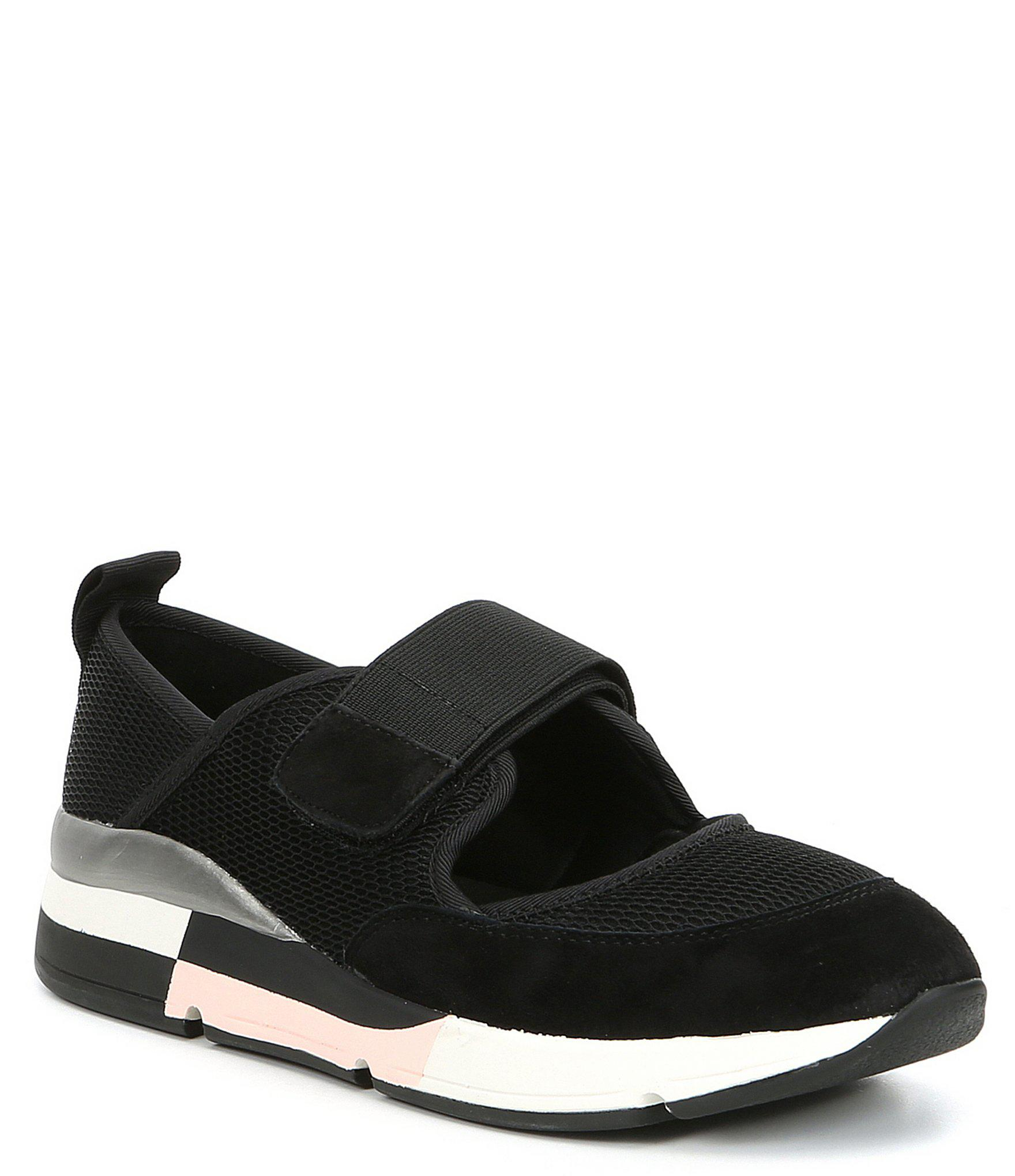 389e0d6fd7780 Steve Madden Steven By Silla Colorblock Sneakers in Black - Lyst