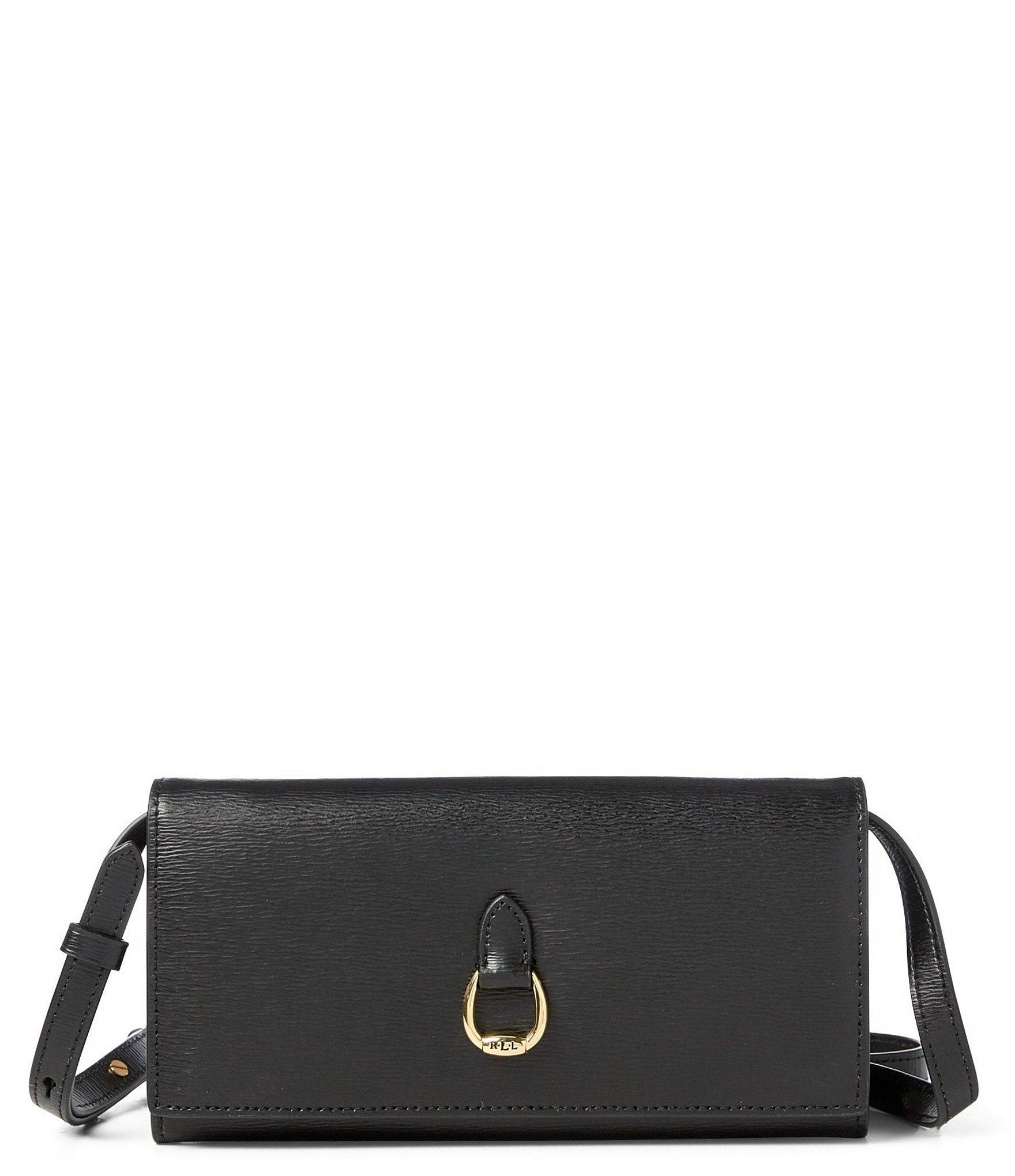 d8b752c79 Lauren by Ralph Lauren Bennington Wallet Cross-body Bag in Black - Lyst