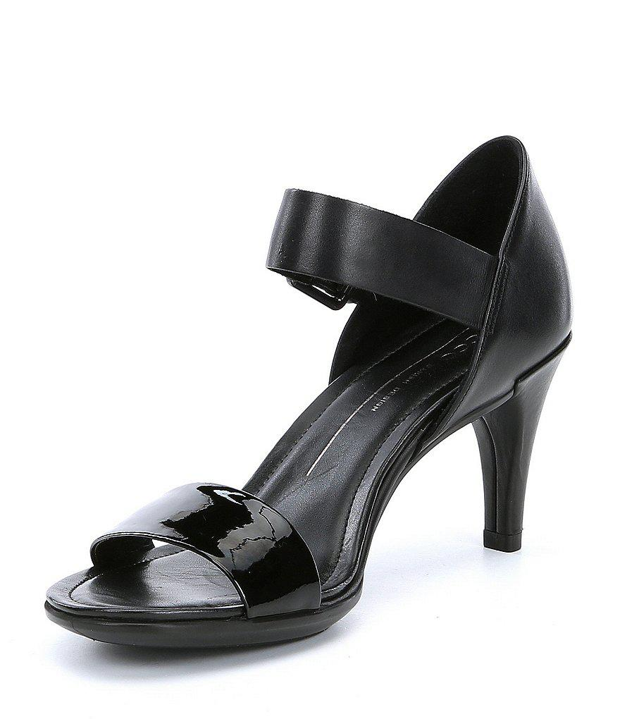 6e9785bd58fd Ecco Shape 65 Sleek Sandals in Black - Lyst