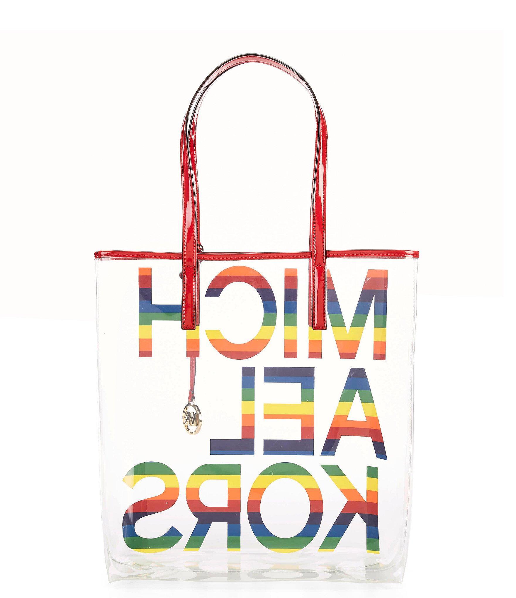7c4a1182e Michael Kors - Multicolor The Michael Bag Large Ns Tote Rainbow - Lyst.  View fullscreen