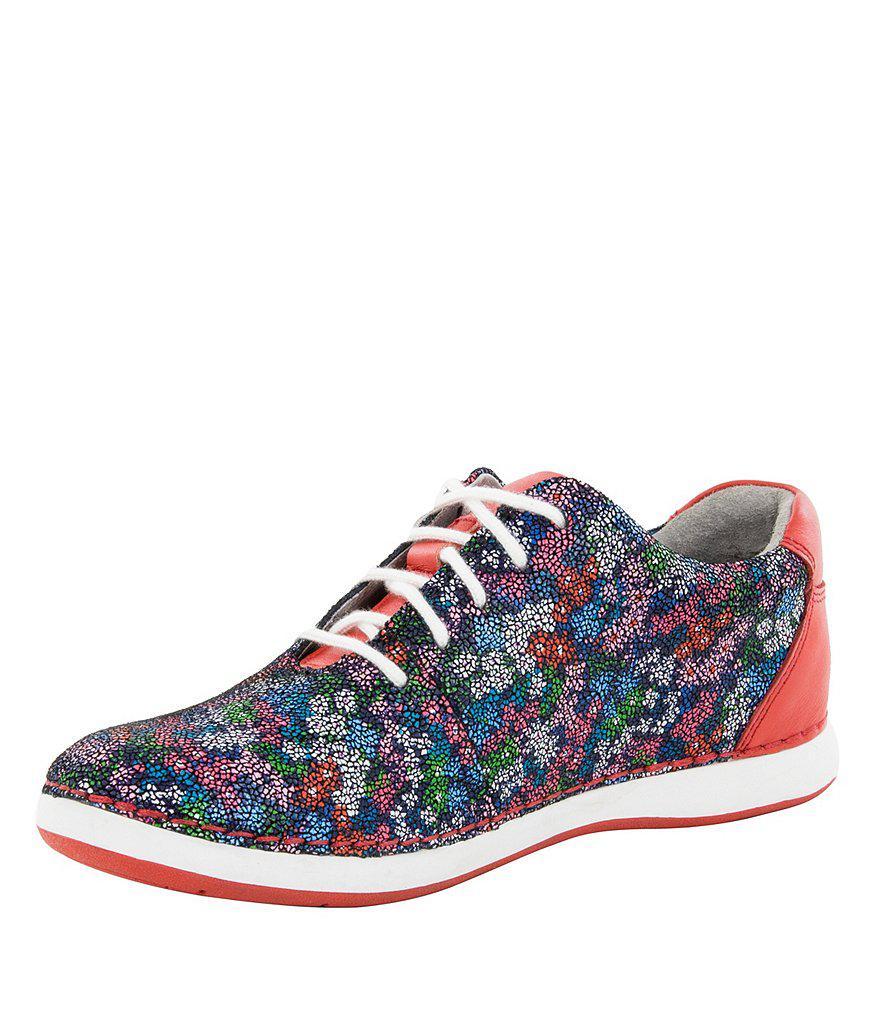 Alegria Women's Essence Floral Print Walking Shoes 3Qvhp7KzH