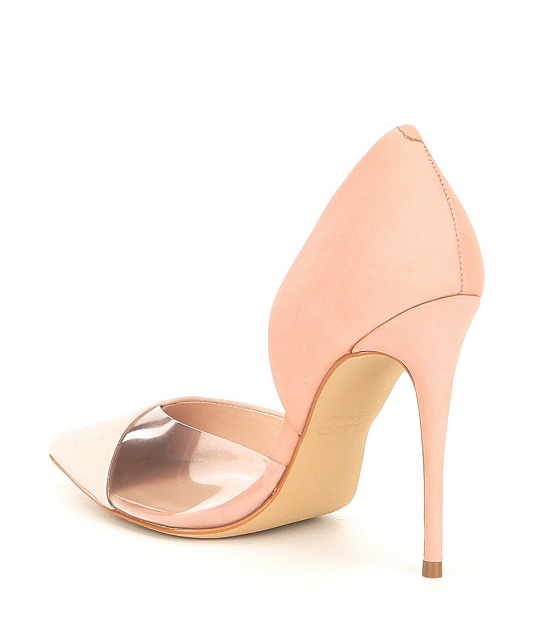 8445b64dcd9 Lyst aldo legiralia leather pointy toe pumps jpg 1760x2040 Aldo pointy toe  heels