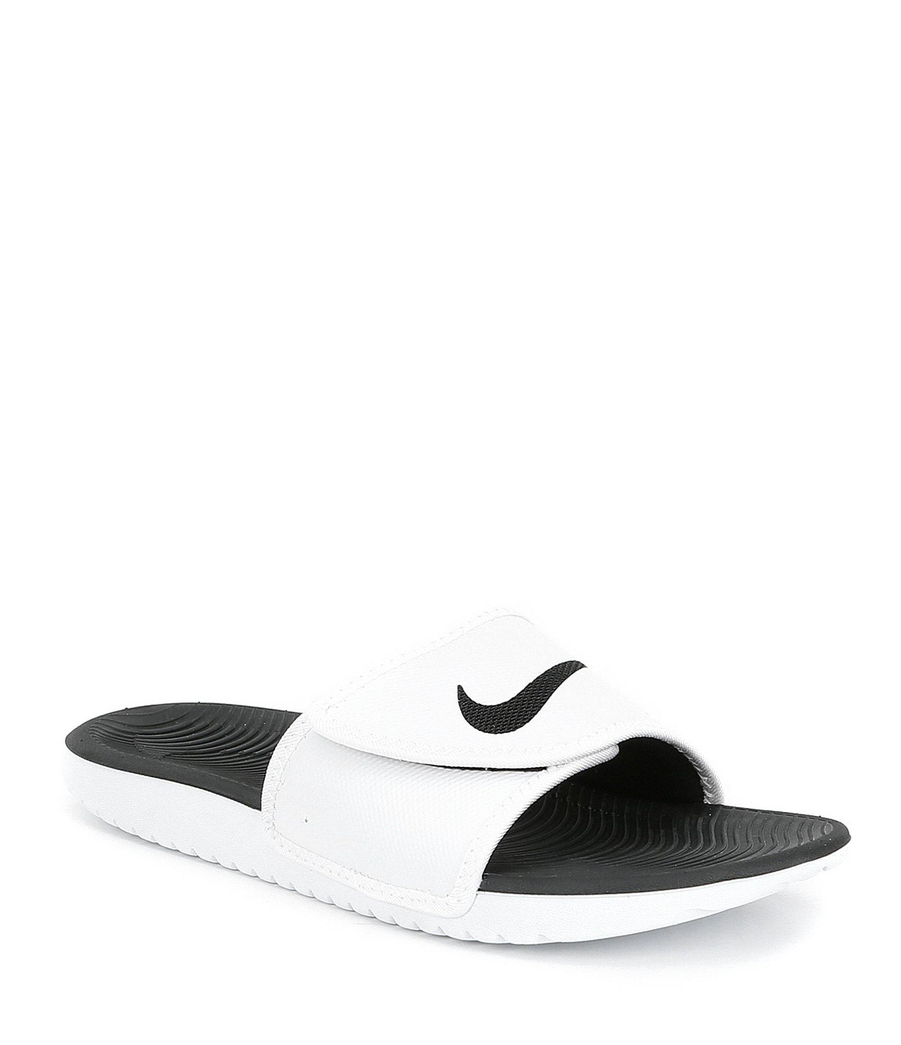 b6df1df57836 Lyst - Nike Men s Kawa Adjustable Slides in Black for Men