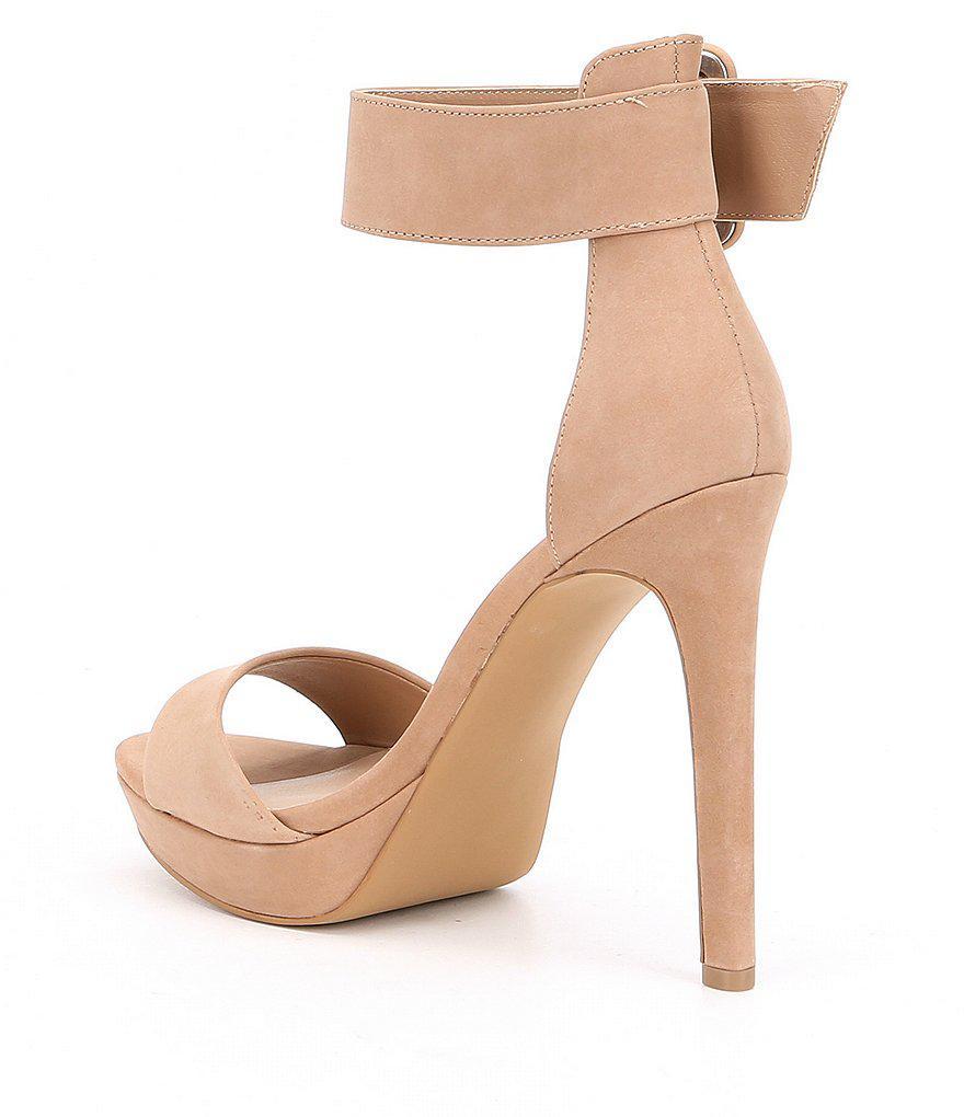 e83efaa6dde25 Steve Madden Circuit Dress Sandals - Lyst