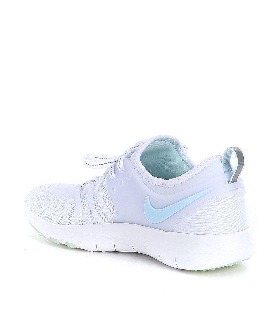 6078af54833cf Lyst - Nike Women s Free Tr 7 Reflect Training Shoes in White