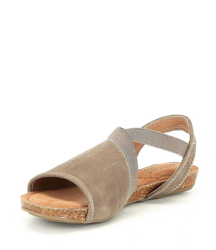 Me Too Nadina Suede Flat Sandals s1f0yz1uV