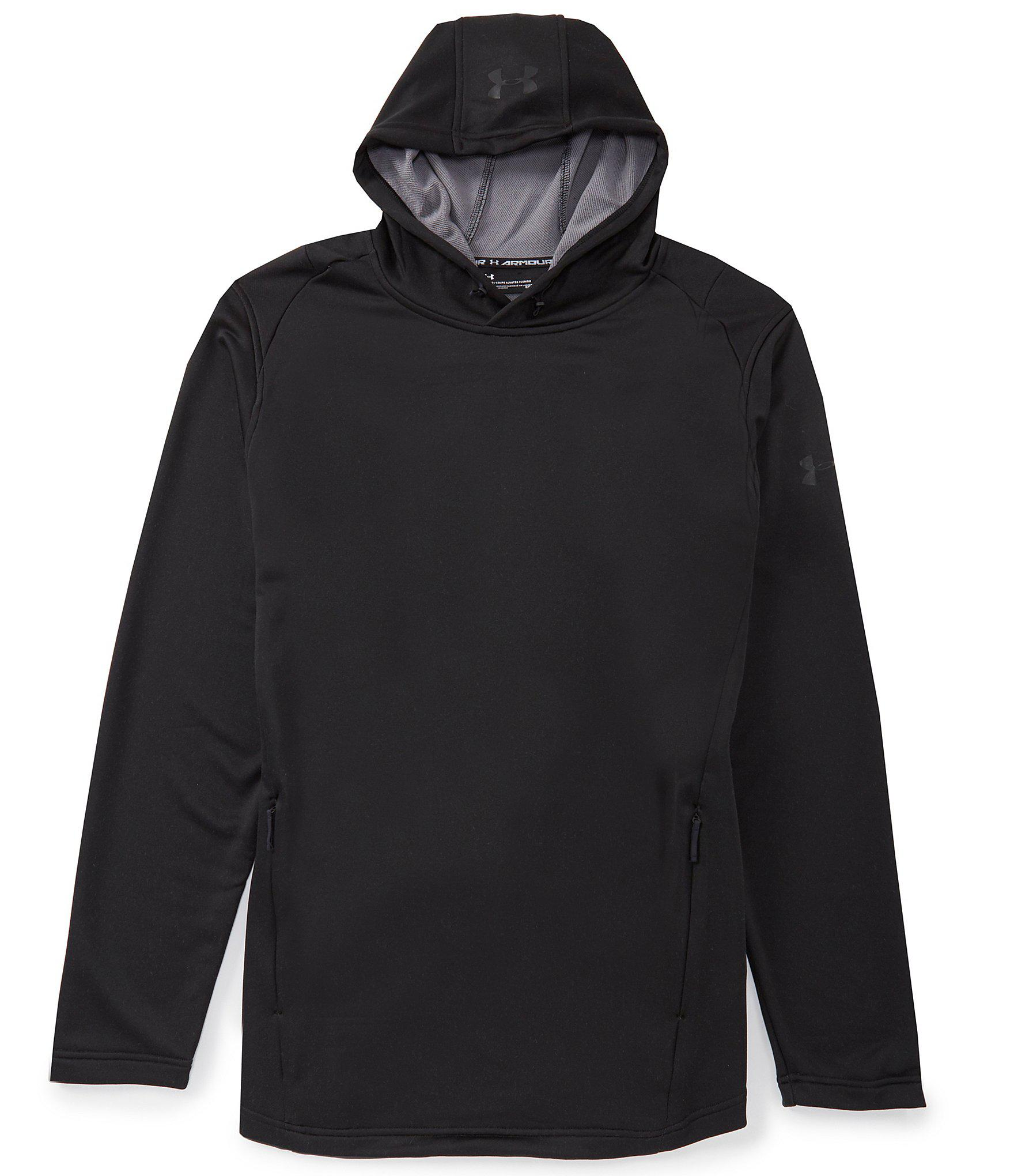 ebff08b65 Lyst - Under Armour Mk1 Terry Long-sleeve Hoodie in Black for Men