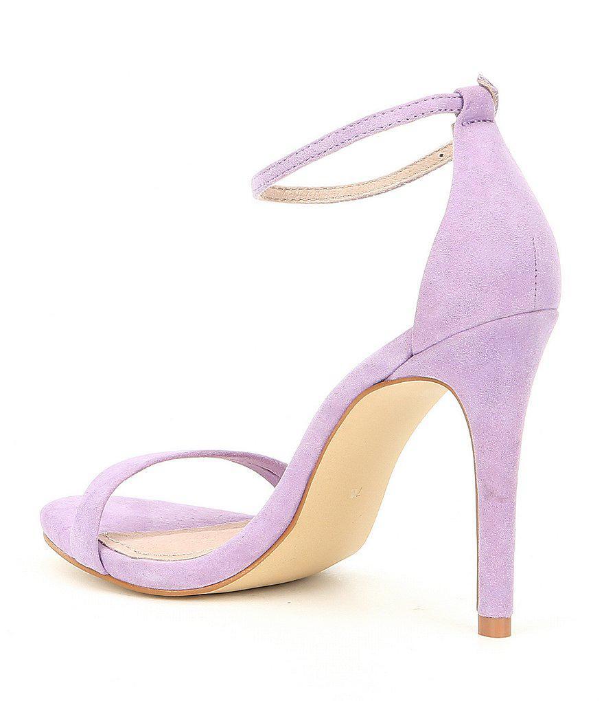 Stecy Suede Ankle-Strap Dress Sandals bBOT42