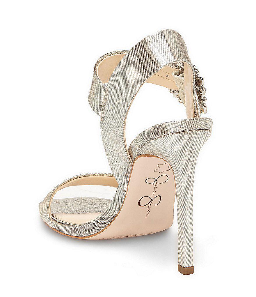 8c425d5e3eae Jessica Simpson Bindy Jeweled Buckle Dress Sandals q6nudD ...