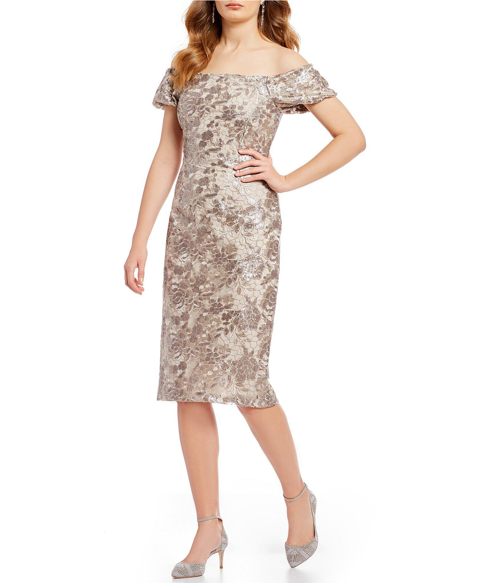 f2688ee1bf Antonio Melani Jenny Dress in Metallic - Lyst